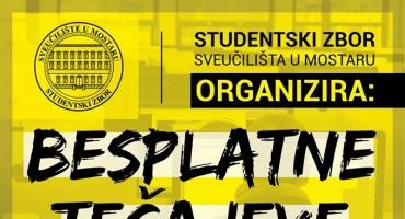 Studentski zbor otvara besplatne tečajeve za sve zainteresirane