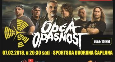 U prodaji ulaznice za koncert Opće opasnosti u Čapljini