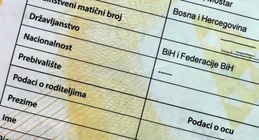 Rodni list će se naplaćivati 0,39 feninga, a vjenčani list 1,72 KM