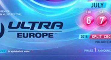 Ultra Europe 2018 objavila najveći lineup ikad