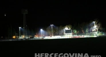 Reflektori sa stadiona HŠK Zrinjski kao poklon za HNK Tomislav
