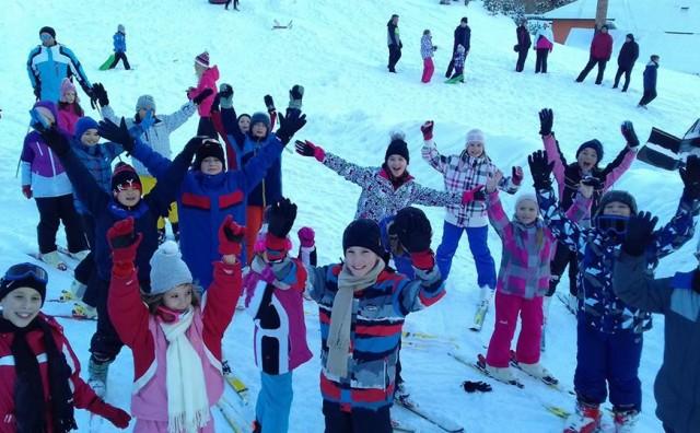 Univerzalna Škola Sporta Sport Talent održala školu skijanja na Kupresu