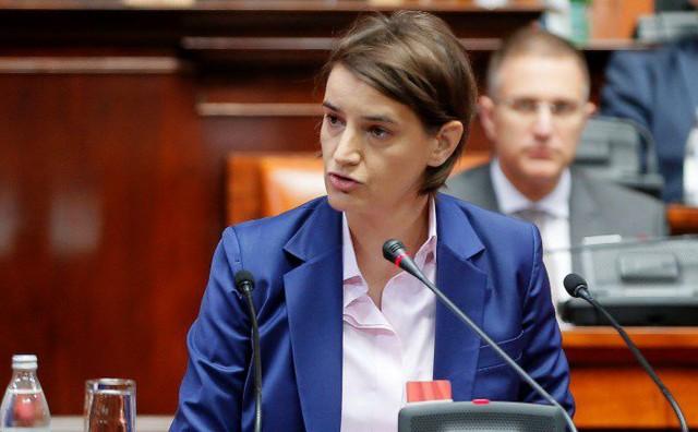 """Kontroverzna izjava srbijanske premijerke mogla bi naljutiti mnoge: """"Ne mislim da je u Srebrenici bio genocid"""""""