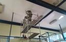 HKK Zrinjski: Obnovljena rasvjeta u dvorani Đački dom