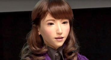 Robot Erica postaje televizijska voditeljica