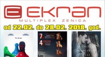 Najava programa Multiplexa Ekran Zenica: Posljednji  tjedan veljače donosi naslov koji je kandidat za oskara