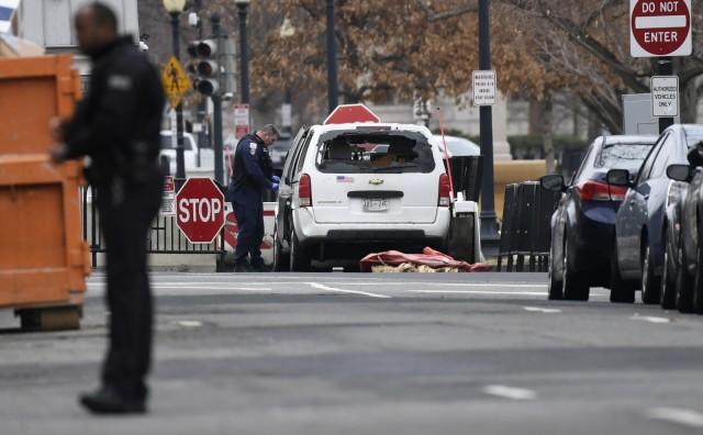 Drama u Bijeloj kući: Vozačica se autom zaletjela u ogradu