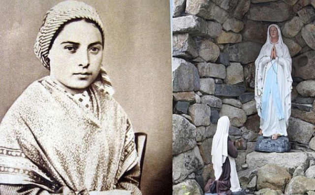 U Lurdu 11.veljače 1858.ukazala se Majka Božja