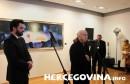 Kardinal Vinko Puljić u Galeriji Aluminij otvorio izložbu s relikvijarom Svetoga križa