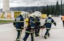 Vrhunska usklađenost Aluminijevih i profesionalnih vatrogasaca, te mostarske hitne pomoći