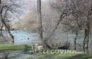 SRC Bunica opet pod vodom: Voda preuzela veći dio nekadašnjeg mostarskog bisera