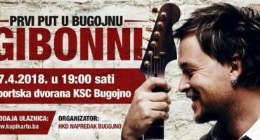 Prvi Gibonnijev koncert u Bugojnu 27. travnja