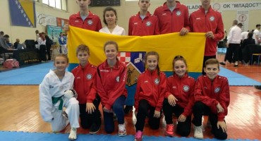 Sedam odličja za taekwondo klub Čapljina u Brčkom