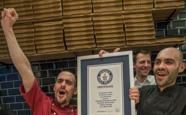 Pizza sa 111 vrsta sireva ušla u Guinessovu knjigu rekorda
