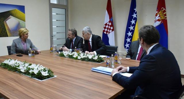 Nakon sastanka lidera zemalja regije u Mostaru: Dogovorena šutnja o prošlosti