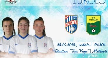 Najava utakmice ŽNK Neretva - ŽNK Pregrada