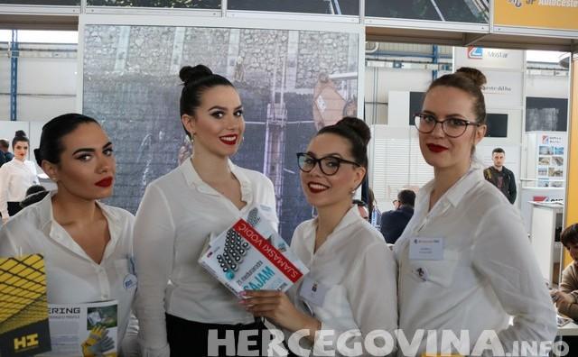 Mostar: Pogledajte lijepe hostese 21. Međunarodnog sajama gospodarstva