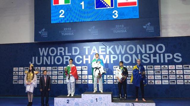 Sa juniorskog taekwondo prvenstva svijeta u Hammametu u Tunisu: Nedžad Husić treći na svijetu