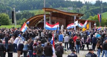 Nikad manje ljudi u Bleiburgu: zatvoren prijelaz, Jandroković žestoko izviždan
