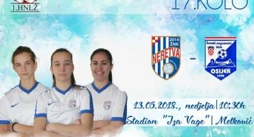 U nedjelju igraju ŽNK Neretva i ŽNK Osijek