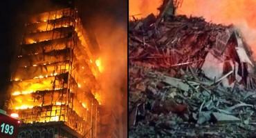 Vatra progutala dva nebodera, očevidci kažu: 'Iz plamena su se čuli vriskovi i zapomaganje'