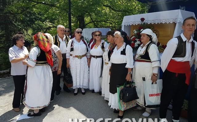 Proslava svetkovine Presvetog Trojstva patrona župe Novo Sarajevo