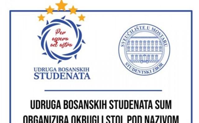 Okrugli stol pod nazivom 'Ostanak mladih u BiH'