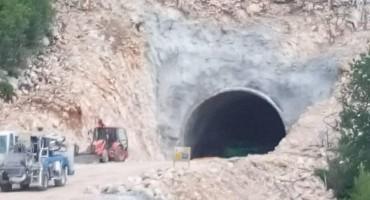 Probija se prvi tunel na prometnici Neum-Stolac