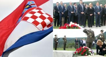Hrvatska slavi Dan državnosti: Predsjednica i premijer položili Vijence na Mirogoju i Oltaru domovine