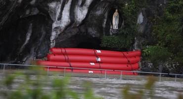 Svjetski poznato marijansko svetište Lurd je poplavljeno