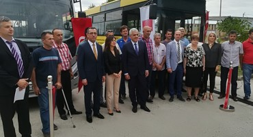 Primopredaja tri busa JP Mostar busu
