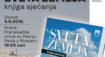 Predstavljanje knjige 'Sveta zemlja' u utorak u Mostaru
