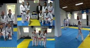 Članovi Taewondo kluba Čapljina uspješno položili na crne pojaseve