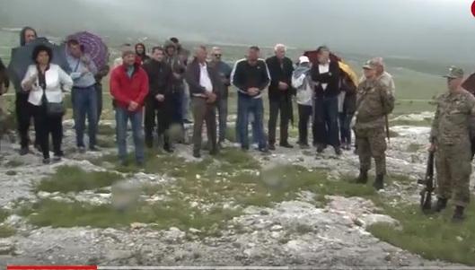 Mostar: Odana počast poginulim braniteljima HVO-a na Merdžan glavi