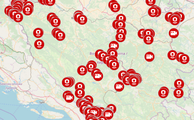 U Mostaru razvijena aplikacija koja pokazuje gdje se nalaze policijske kontrole i stacionarni radari