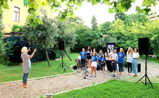 Članovi MORS-a i Dječjeg hora Pavarotti pokazali svoj talent
