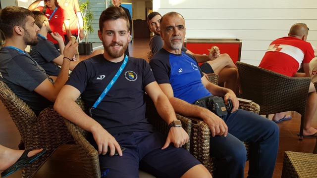 Petar Zadro član mostarske Borse na Mediteranskim igrama