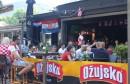Pogledajte kako je Mostar pratio utakmicu Hrvatska-Rusija