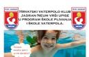 HVK Jadran Neum vrši upise u školu plivanja i školu vaterpola