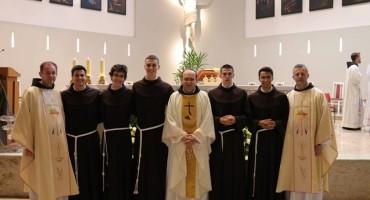 Ljubuški: Petorica mladih franjevaca položili privremene zavjete