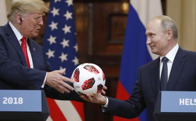 Putin Trumpu poklonio loptu kojom je odigrana finalna utakmica