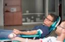 Akcija darivanja krvi u prostorijama HDZ-a 1990