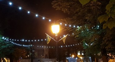 Gori lampa nasrid Vinkovaca