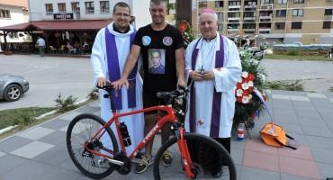 Biciklom od Labina Dalmatinskog do Bosanskog Grahova u čast poginulih branitelja