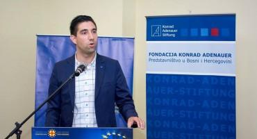 Mario Mikulić predavač na Međunarodnoj konferenciju ''Uloga mladih u procesu europskih integracija''