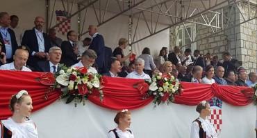 Hrvatski član Predsjedništva BiH dr. Dragan Čović nazočio 303. sinjskoj alci