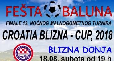 Finale 12. CROATIA-BLIZNA CUPA 2018