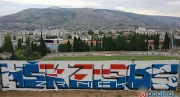 Pogledajte novi grafit Zrinjskog iznad stadiona