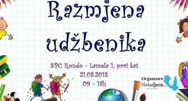 Razmjena školskih udžbenika u Mostaru