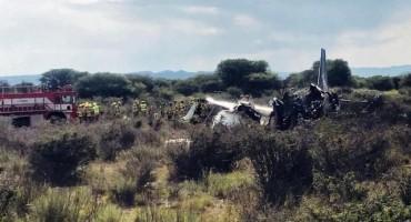 U Meksiku se srušio zrakoplov sa 103 putnika